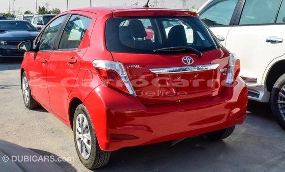 Buy Import Toyota Yaris Red Car in Import - Dubai in Belize